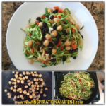 Bean and Zucchini Noodles